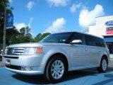 2010 Ingot Silver Metallic Ford Flex SEL AWD #48520404