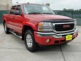 2005 Fire Red GMC Sierra 1500 Z71 Crew Cab 4x4 #48520651