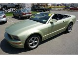 2005 Legend Lime Metallic Ford Mustang GT Premium Convertible #48520702