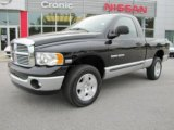 2004 Black Dodge Ram 1500 SLT Regular Cab 4x4 #48520734