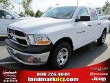 2011 Bright White Dodge Ram 1500 ST Crew Cab #48520500