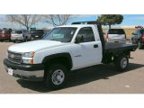 2005 Chevrolet Silverado 2500HD Work Truck Regular Cab Chassis Data, Info and Specs