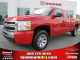 2010 Victory Red Chevrolet Silverado 1500 LS Extended Cab #48520507