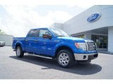 2011 Blue Flame Metallic Ford F150 XLT SuperCrew #48520511