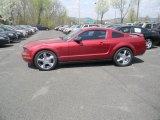 2007 Redfire Metallic Ford Mustang V6 Deluxe Coupe #48520786
