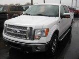 2011 Oxford White Ford F150 Lariat SuperCrew 4x4 #48520792