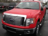 2011 Race Red Ford F150 XLT SuperCab 4x4 #48520798