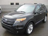 2011 Tuxedo Black Metallic Ford Explorer Limited 4WD #48520799