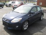 2012 Kona Blue Metallic Ford Focus SEL Sedan #48520815