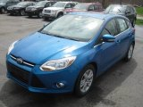 2012 Blue Candy Metallic Ford Focus SEL 5-Door #48520816