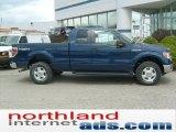 2011 Dark Blue Pearl Metallic Ford F150 XLT SuperCab 4x4 #48520247