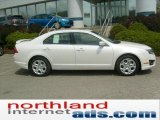 2011 White Suede Ford Fusion SE #48520259