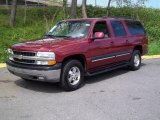 Redfire Metallic Chevrolet Suburban in 2001