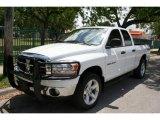 2006 Bright White Dodge Ram 1500 SLT Quad Cab 4x4 #48520588