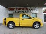 2004 Solar Yellow Dodge Ram 1500 SLT Rumble Bee Regular Cab #48520287
