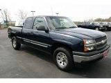 2005 Dark Blue Metallic Chevrolet Silverado 1500 LS Extended Cab 4x4 #48520591