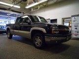 2004 Black Chevrolet Silverado 1500 Z71 Extended Cab 4x4 #48520600