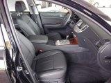 2011 Hyundai Genesis 4.6 Sedan Jet Black Interior