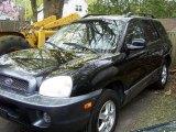 2003 Black Obsidian Hyundai Santa Fe GLS 4WD #48581587