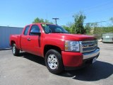 2007 Victory Red Chevrolet Silverado 1500 Work Truck Extended Cab #48581602