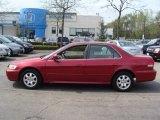2002 Firepepper Red Pearl Honda Accord EX Sedan #48521497