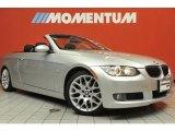 2007 Titanium Silver Metallic BMW 3 Series 328i Convertible #48520952