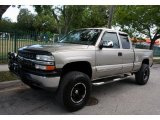 1999 Light Pewter Metallic Chevrolet Silverado 1500 LS Z71 Extended Cab 4x4 #48581373