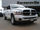2006 Bright White Dodge Ram 1500 SLT Quad Cab #48581623