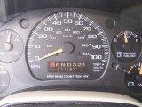 2004 Chevrolet Astro LS AWD Passenger Van Gauges