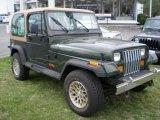 1995 Jeep Wrangler Moss Green Pearl