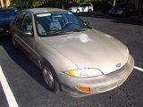 1999 Medium Sunset Gold Metallic Chevrolet Cavalier Sedan #48581182