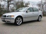 2005 Titanium Silver Metallic BMW 3 Series 330xi Sedan #48581440