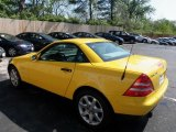 1998 Mercedes-Benz SLK Sunburst Yellow