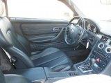1998 Mercedes-Benz SLK 230 Kompressor Roadster Charcoal Interior
