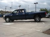 Patriot Blue Pearl Dodge Ram 3500 in 2008