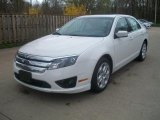 2011 White Suede Ford Fusion SE #48581702