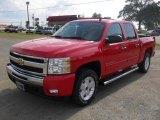 2011 Victory Red Chevrolet Silverado 1500 LT Crew Cab 4x4 #48581704