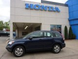 2007 Royal Blue Pearl Honda CR-V LX 4WD #48581227