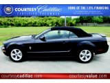 2007 Black Ford Mustang V6 Premium Convertible #48521044