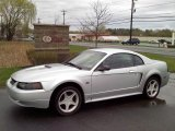 2000 Silver Metallic Ford Mustang GT Coupe #48581452