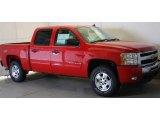 2011 Victory Red Chevrolet Silverado 1500 LT Crew Cab 4x4 #48521052
