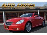 2003 Absolutely Red Lexus SC 430 #48581728