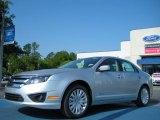 2011 Ingot Silver Metallic Ford Fusion Hybrid #48581246