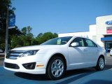 2011 White Platinum Tri-Coat Ford Fusion SE #48581247