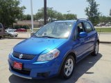 2007 Techno Blue Metallic Suzuki SX4 AWD #48581761