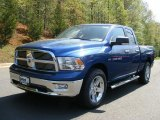 2011 Deep Water Blue Pearl Dodge Ram 1500 Big Horn Quad Cab 4x4 #48521122