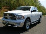 2011 Bright White Dodge Ram 1500 Big Horn Quad Cab 4x4 #48521123