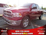 2011 Deep Cherry Red Crystal Pearl Dodge Ram 1500 Big Horn Quad Cab #48581311