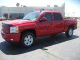 2011 Victory Red Chevrolet Silverado 1500 LTZ Crew Cab 4x4 #48581539