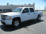 2011 Summit White Chevrolet Silverado 1500 LT Crew Cab #48581540
